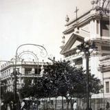 Un Aspecto de la Plaza de Armas.