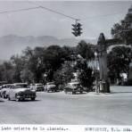 Lado oriente de La Alameda. - Monterrey, Nuevo León