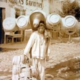 Tipos Mexicanos  vendedor de Canastas. - Mercados y Vendedores, Economía y Cultura