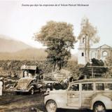 Escena después de la erupción del volcán Paricutín, en Michoacán (circa 1945)
