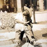 Un Mendigo tomando su siesta Guadalajara Jalisco (  Fechada en 1908 )