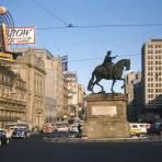 El Caballito y Avenida Juárez (1957)