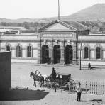 Edificio de Correos, desde la Misión de Guadalupe (circa 1905)