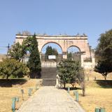 Arcos de la entrada al ex-convento de San Francisco (siglo XVI). Febrero/2017 - Tepeyanco, Tlaxcala