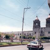 calle Andres Delgado fotografía de los años 1980's - Salamanca, Guanajuato