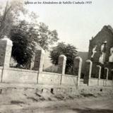 Iglesia en los Alrededores de Saltillo Coahuila 1935 - Saltillo, Coahuila