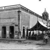 calle Andres Delgado fotografía de los años 1920's - Salamanca, Guanajuato