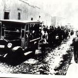 cortejo fúnebre Salamanca Guanajuato años 30's siglo pasado - Salamanca, Guanajuato