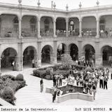 Interior de la Universidad Autónoma de San Luis Potosí
