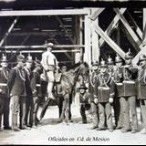 Oficiales reunidos en Cd. de Mexico.