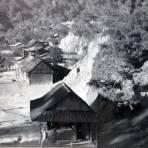 Panorama de Pluma Hidalgo Oaxaca ( Fechada el dia 17 de Marzo de 1954 )