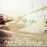 Calle de La Reforma despues de la Erupcion de el Volcan de Colima el 20 de Enero de 1913
