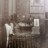 Interior de la Capilla de el Pocito en  La Basilica de Guadalupe.