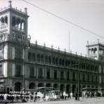 Palacio Municipal Por el fotografo Hugo Brehme. - Ciudad de México, Distrito Federal