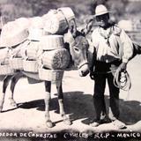 Tipos Mexicanos  Vendedor de canastas. - Ciudad Valles, San Luis Potosí