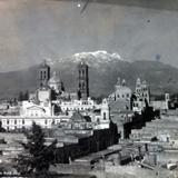 Volcan Ixtaccihuatl desde Puebla.