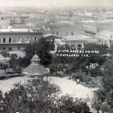 Vista a ojo de Pajaro ( Fechada el 24 de Julio de 1924 ).