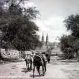 Tipos Mexicanos  vendedor de Leche a la entrada del Pueblo.. - San Juan de los Lagos, Jalisco