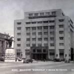 Edificios Guardiola y Banco  Nacional de Mexico.