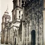 El Sagrario y La Catedral Cd de Mexico.