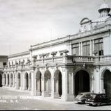 Terraza  de el Castillo de Chapultepec Cd de Mexico.