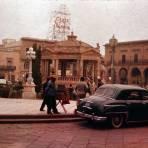 Plaza principal de San Luis Potosí (1961)
