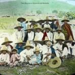 Tipos Mexicanos  Peones de una Hacienda..