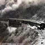 Ferrocarril Mexicano Por el fotografo Hugo Brehme.