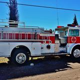 Camión de bomberos - Casas Grandes, Chihuahua