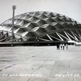El palacio de los deportes.