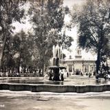La Alameda de la ciudad de Mexico.