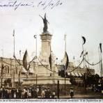 Innaguracion de el Monumento a La Independencia con motivo de el primer centenario 16 de Septiembre de 1910