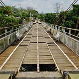 Puente sobre el río Comoapan - San Andrés Tuxtla, Veracruz
