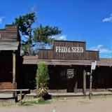 Antiguo set cinematográfico, hoy abandonado. - Durango, Durango
