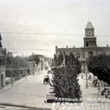 Calle  Zaragoza  y plaza.