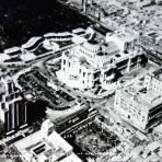 Panoramamica aerea del Palacio de Bellas Artes.