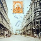 Calle de  La Palma Circulada el 7 de Febrero de 1914.