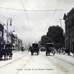 Avenida de los hombres ilustres por el fotografo FELIX MIRET.