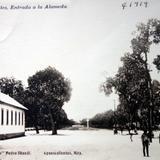 Entrada a  a la Alameda ( Circulada el 1 de Agosto de 1919 ).