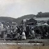 Un aspecto del mercado ( Circulada el 18 de Septiembre de 1911 ).
