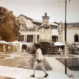 Mercado de Penjamo Guanajuato ( Circulada el 4 de  Julio de 1928 ).