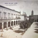 Portal de las flores  ( Circulada el 28 de Mayo de 1908 ).