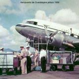 Aeropuerto de Guadalajara jalisco 1956 Compania Mexicana de Aviacion.