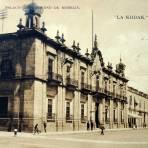 Palacio de Gobierno ( Circulada el 20 de Enero  de 1919 ).
