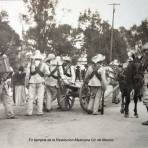 En tiempos de la Revolucion Mexicana Cd. de Mexico ( Enviada el 18 de Diciembre de 1914 ).