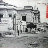 Gran teatro ( Circulada el 23 de Diciembre de 1909 ).