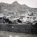 Cerro de La Bufa ( Circulada el 21 de Julio de 1911 ).