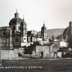 La villa de Guadalupe y el cerrito.