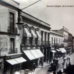 Escena Callejera  de la Ciudad de Mexico..