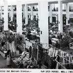 Interior del Mercado Hidalgo.